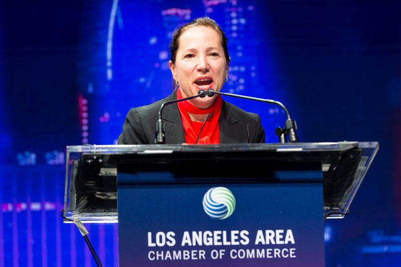 Image of Lt. Governor Kounalakis speaking