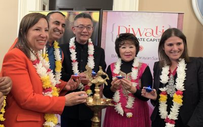 Diwali Celebrated at the California State Capitol