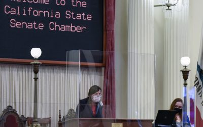 Lt. Governor Kounalakis Opens the State Senate's 2021-22 Regular Session